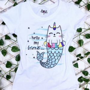 T-shirt infantil estampa