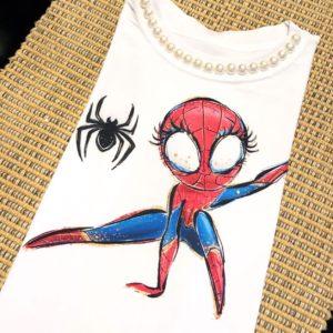 T-shirt Mulher Aranha